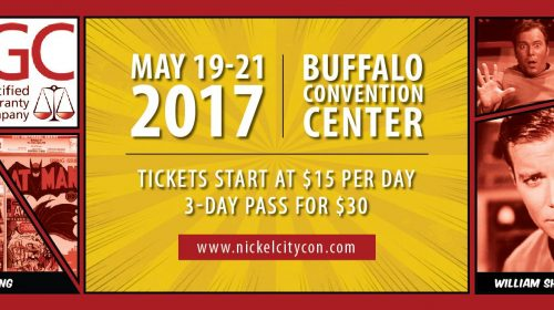 DW at Nickel City Con May 19-21