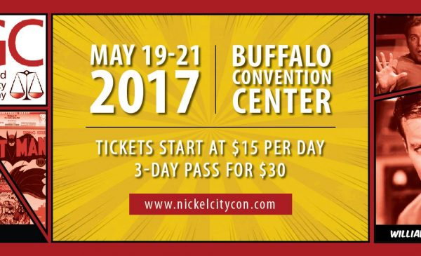 DW at Nickel City Con May 19-21 @ Buffalo Niagra Convention Center