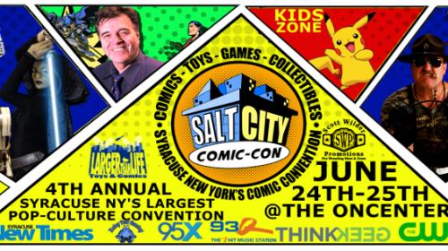 DW at Salt City Comic Con June 24-25