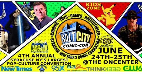 DW at Salt City Comic Con June 24-25 @ Oncenter