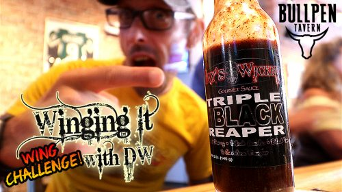 [SPECIAL] Winging It With DW: Jays Wicked Triple Black Reaper Taste Test Challenge