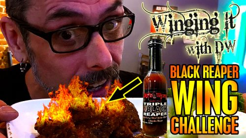 WINGING IT WITH DW SE2/EP8: HOTTEST WING EVER! w/ Jay's Wicked Gourmet Carolina Reaper Sauce!