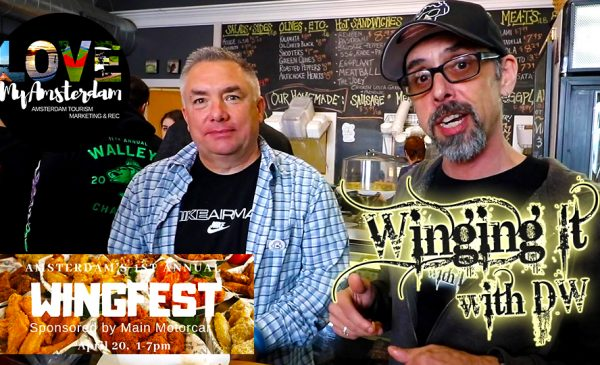 WINGING IT WITH DW SE3/EP1: Amsterdam's 1st Annual WingFest