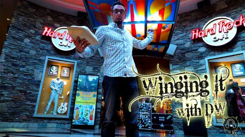 Winging It With DW: SE2EP4 Hard Rock Cafe Foxwoods Casino [Mashantucket,CT ]
