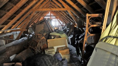 Family members clearing out their deceased father's home make a discovery that better have a damn good explanation.