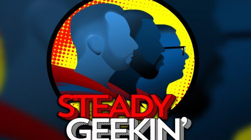 Steady GEEKIN Ep 56: DEMI-GOD: A Chat with Comic Artist Andy Smith